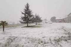 Lafitole sous la neige